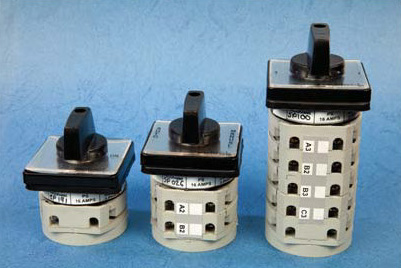 """Rotary Switches """"Select"""" Brand"""