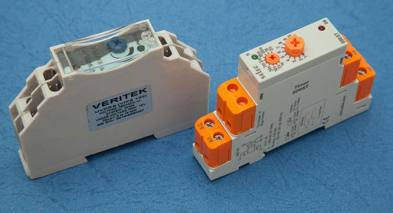 Under Voltage Relays (UVR)