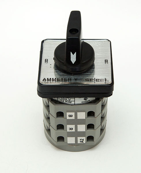 Ammeter Selector Switches