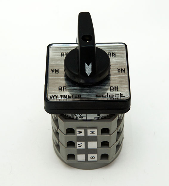 Voltmeter Selector Switches