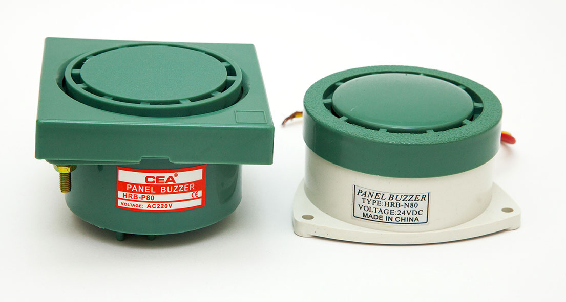 Panel Buzzer Flush Type Cea Model Hrb P80 With Ce Mark